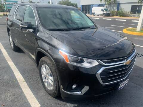 2020 Chevrolet Traverse for sale at Eden Cars Inc in Hollywood FL