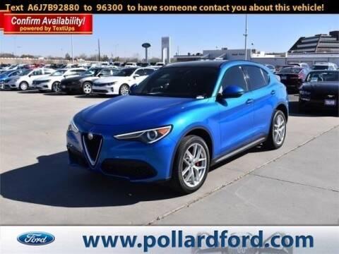 2018 Alfa Romeo Stelvio for sale at South Plains Autoplex by RANDY BUCHANAN in Lubbock TX
