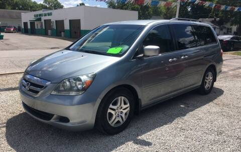 2007 Honda Odyssey for sale at Antique Motors in Plymouth IN