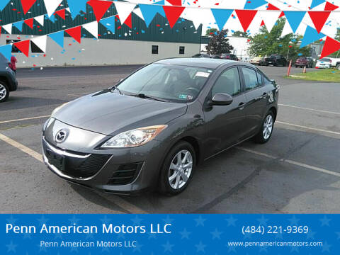 2010 Mazda MAZDA3 for sale at Penn American Motors LLC in Allentown PA