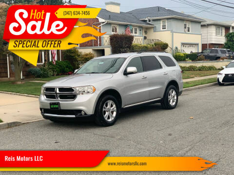 2011 Dodge Durango for sale at Reis Motors LLC in Lawrence NY