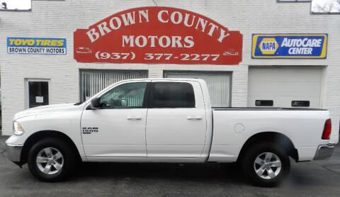 2020 RAM Ram Pickup 1500 Classic for sale at Brown County Motors in Russellville OH