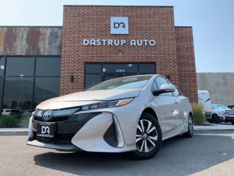 2018 Toyota Prius Prime for sale at Dastrup Auto in Lindon UT