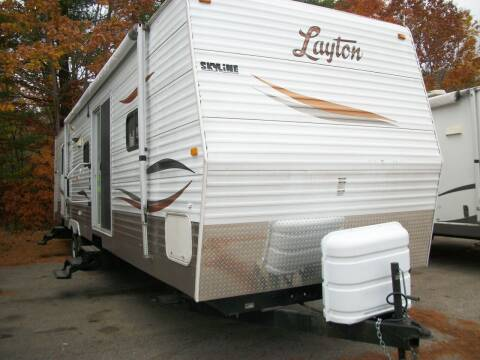 2009 Skyline Layton 378 for sale at Olde Bay RV in Rochester NH