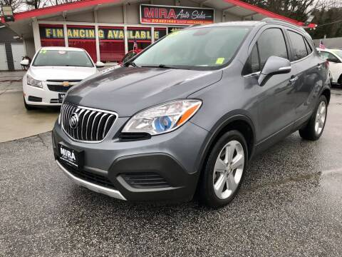 2015 Buick Encore for sale at Mira Auto Sales in Raleigh NC