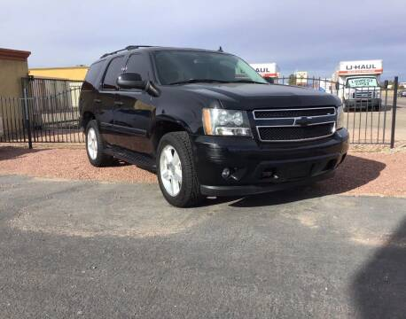2007 Chevrolet Tahoe for sale at SPEND-LESS AUTO in Kingman AZ