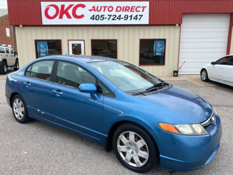 2006 Honda Civic for sale at OKC Auto Direct in Oklahoma City OK