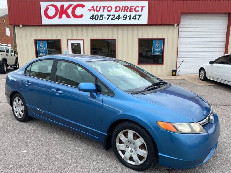 2006 Honda Civic for sale at OKC Auto Direct, LLC in Oklahoma City OK