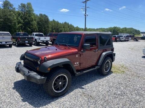 2007 Jeep Wrangler for sale at Billy Ballew Motorsports in Dawsonville GA
