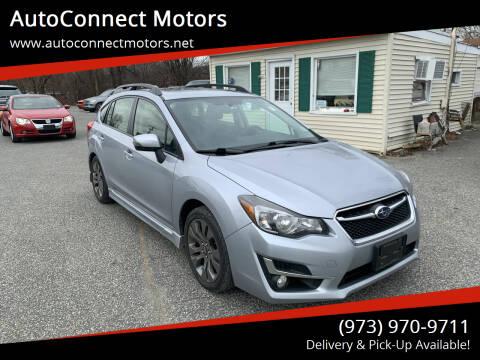 2016 Subaru Impreza for sale at AutoConnect Motors in Kenvil NJ