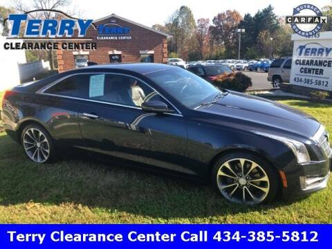 2015 Cadillac ATS for sale at Terry Clearance Center in Lynchburg VA