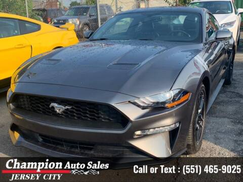 2020 Ford Mustang for sale at CHAMPION AUTO SALES OF JERSEY CITY in Jersey City NJ