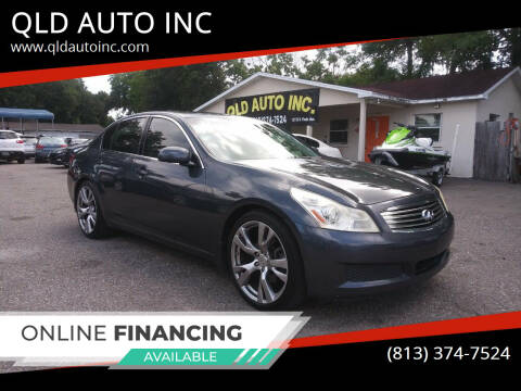 2008 Infiniti G35 for sale at QLD AUTO INC in Tampa FL