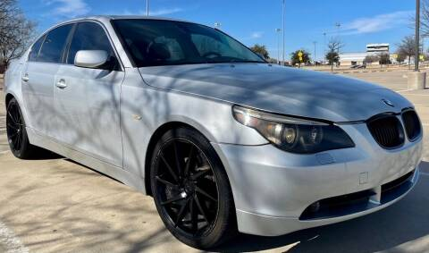2004 BMW 5 Series for sale at Driveline Auto Solution, LLC in Wylie TX