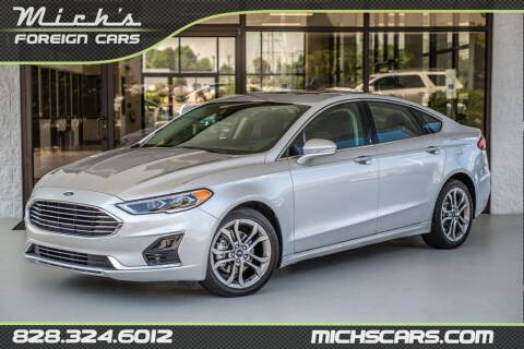2019 Ford Fusion for sale at Mich's Foreign Cars in Hickory NC
