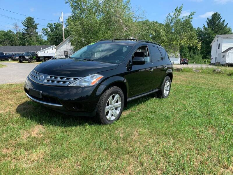 2006 Nissan Murano for sale at ds motorsports LLC in Hudson NH