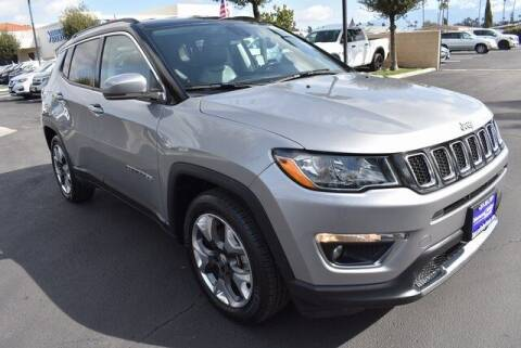 2020 Jeep Compass for sale at DIAMOND VALLEY HONDA in Hemet CA