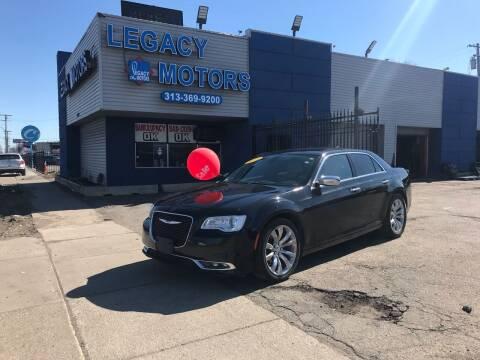 2018 Chrysler 300 for sale at Legacy Motors in Detroit MI