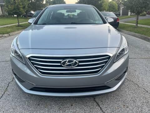 2015 Hyundai Sonata for sale at Via Roma Auto Sales in Columbus OH