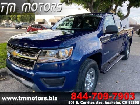 2019 Chevrolet Colorado for sale at TM Motors in Anaheim CA