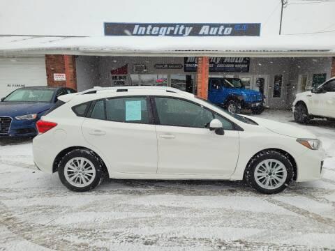 2017 Subaru Impreza for sale at Integrity Auto LLC - Integrity Auto 2.0 in St. Albans VT