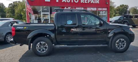 2015 Nissan Frontier for sale at L&T Auto Sales in Three Rivers MI