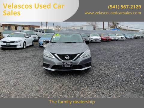 2016 Nissan Sentra for sale at Velascos Used Car Sales in Hermiston OR