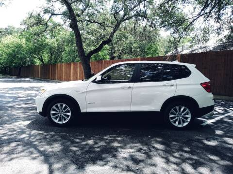 2013 BMW X3 for sale at 57 Auto Sales in San Antonio TX