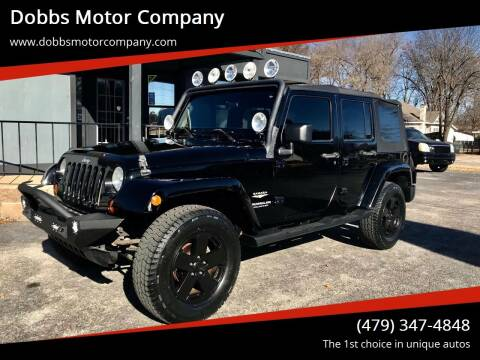 2007 Jeep Wrangler Unlimited for sale at Dobbs Motor Company in Springdale AR