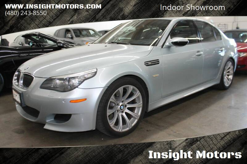 2008 BMW M5 for sale at Insight Motors in Tempe AZ