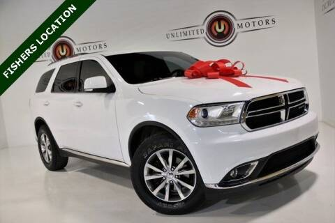 2014 Dodge Durango for sale at Unlimited Motors in Fishers IN