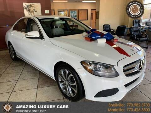 2015 Mercedes-Benz C-Class for sale at Amazing Luxury Cars in Snellville GA