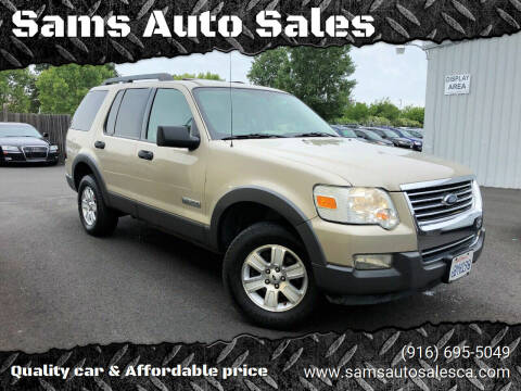 2006 Ford Explorer for sale at Sams Auto Sales in North Highlands CA