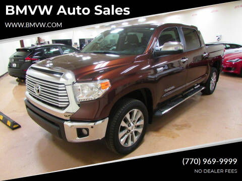 2017 Toyota Tundra for sale at BMVW Auto Sales - Trucks and Vans in Union City GA