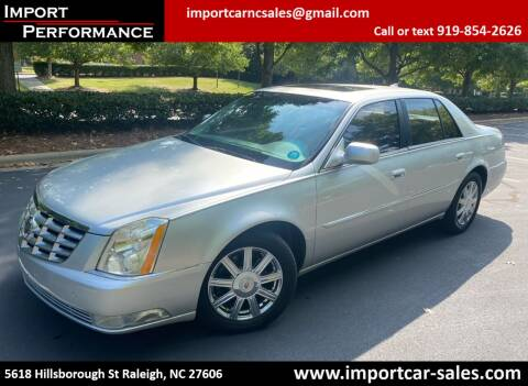 2011 Cadillac DTS for sale at Import Performance Sales in Raleigh NC