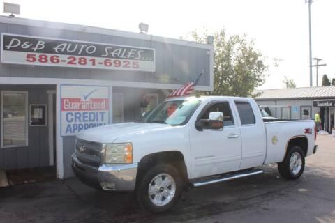 2011 Chevrolet Silverado 1500 for sale at D & B Auto Sales LLC in Washington MI