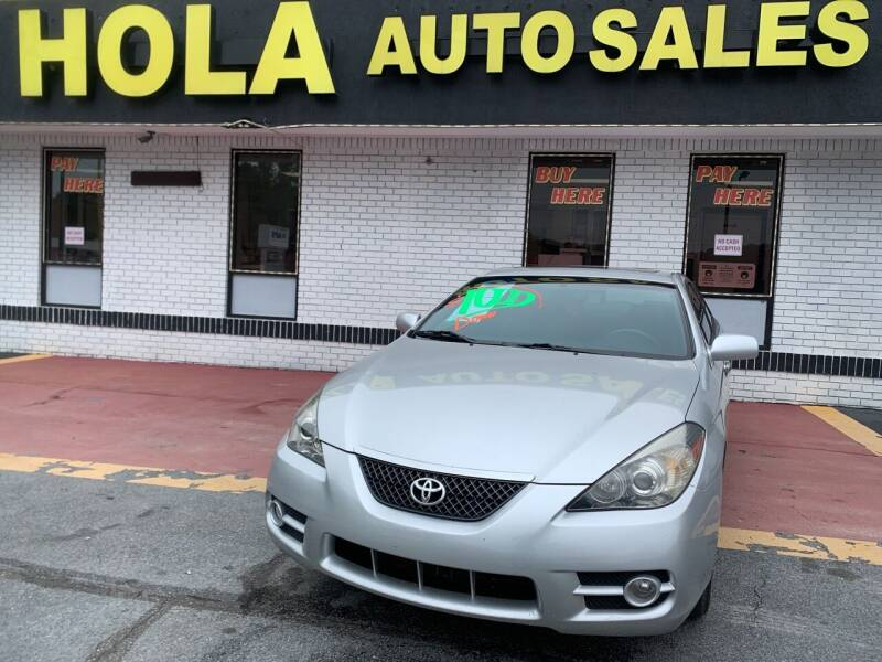2007 Toyota Camry Solara for sale at HOLA AUTO SALES CHAMBLEE- BUY HERE PAY HERE - in Atlanta GA