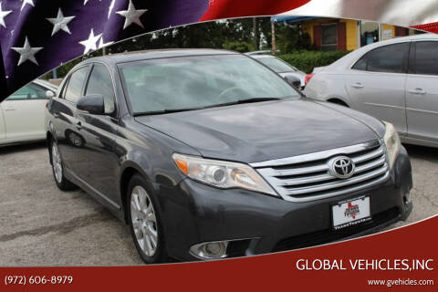 2011 Toyota Avalon for sale at Global Vehicles,Inc in Irving TX