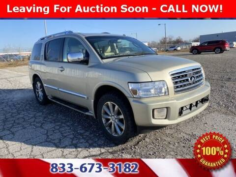 2008 Infiniti QX56 for sale at Glenbrook Dodge Chrysler Jeep Ram and Fiat in Fort Wayne IN