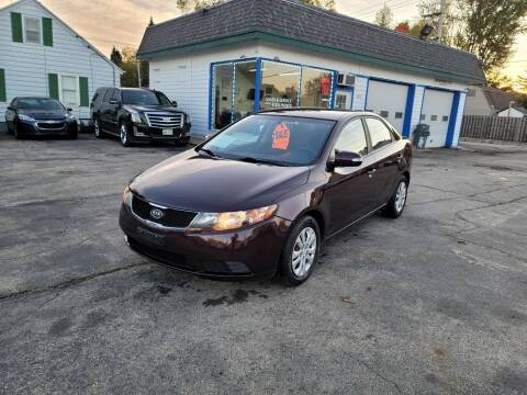 2010 Kia Forte for sale at MOE MOTORS LLC in South Milwaukee WI