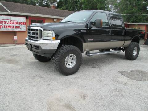 2004 Ford F-250 Super Duty for sale at Auto Liquidators of Tampa in Tampa FL