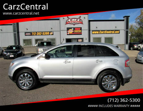 2010 Ford Edge for sale at CarzCentral in Estherville IA
