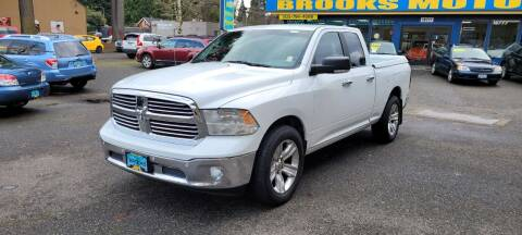 2014 RAM Ram Pickup 1500 for sale at Brooks Motor Company, Inc in Milwaukie OR