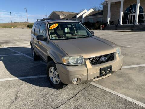2007 Ford Escape for sale at 411 Trucks & Auto Sales Inc. in Maryville TN