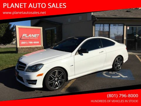 2013 Mercedes-Benz C-Class for sale at PLANET AUTO SALES in Lindon UT