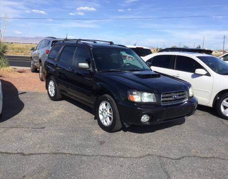 2004 Subaru Forester for sale at SPEND-LESS AUTO in Kingman AZ