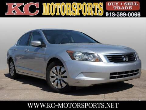 2008 Honda Accord for sale at KC MOTORSPORTS in Tulsa OK