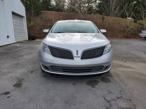 2013 Lincoln MKS for sale at DISCOUNT AUTO SALES in Johnson City TN
