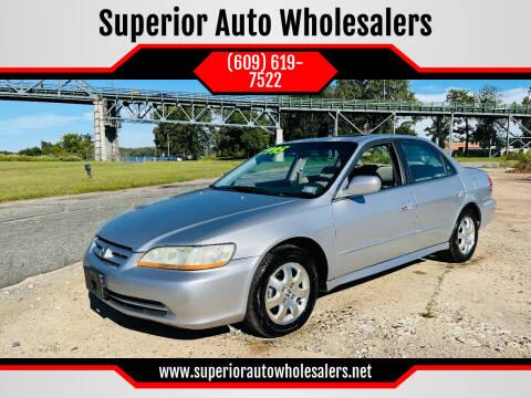 2001 Honda Accord for sale at Superior Auto Wholesalers in Burlington NJ