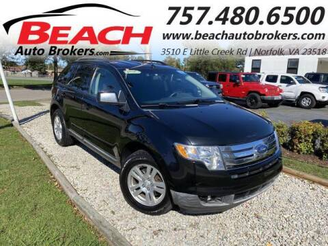2008 Ford Edge for sale at Beach Auto Brokers in Norfolk VA